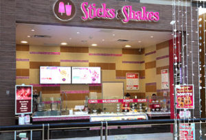 Sticks and Shakes Galleria
